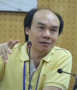 GS Đỗ Đức Thái, chủ biên chương trình môn Toán mới. Ảnh: Quỳnh Trang.