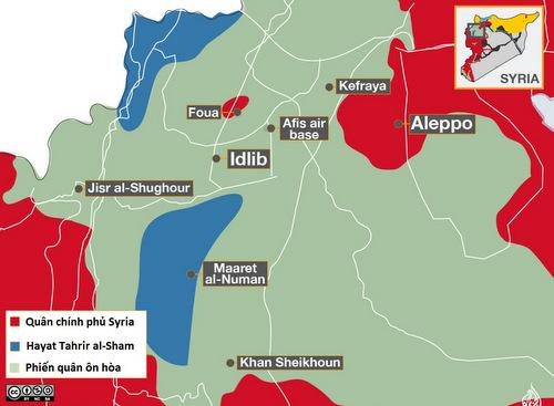 Nga nêu nguồn xuất phát của các UAV tấn công căn cứ ở Syria