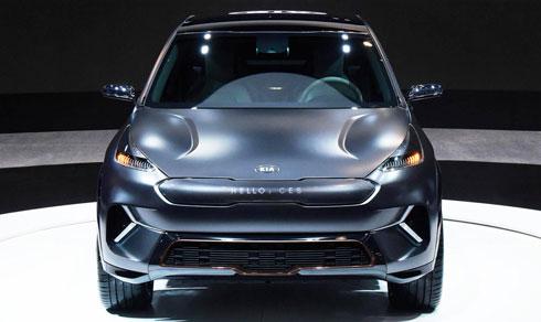Kia hé lộ Niro EV - crossover chạy điện mới
