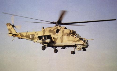 Trực thăng Mi-24 là mối đe dọa lớn với quân đội Mỹ trong Chiến tranh Lạnh. Ảnh: War is Boring.