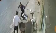 Chủ nhà rượt tên trộm xe máy chạy trối chết ở Biên Hòa