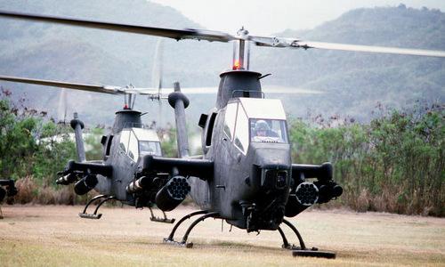 Trực thăng tấn công AH-1 Cobra của lục quân Mỹ. Ảnh: US Army.