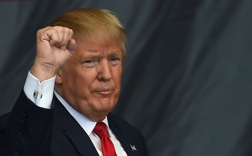 Tổng thống Mỹ Donald Trump. Ảnh: AFP.