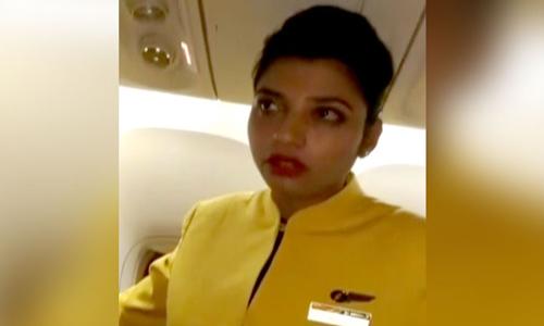 Nữ tiếp viên Ấn ĐộDeveshi Kulshreshtha. Ảnh: NDTV.