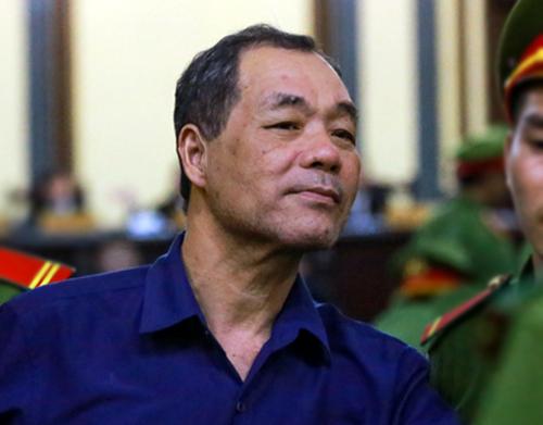 Ông Trầm Bê tại tòa. Ảnh: Quỳnh Trần.