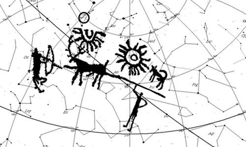 Bức chạm khắc nghi là hình ảnh mô tả lâu đời nhất về một siêu tân tinh