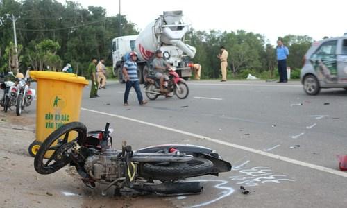 Người đi xe máy ở Việt Nam rất liều mạng