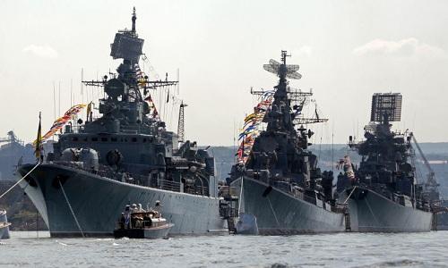 Các tàu chiến tuộc Hạm đội biển Đen của Nga. Ảnh minh họa: Tass.
