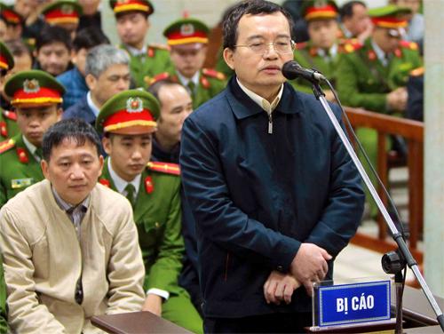 Bị cáo Nguyễn Quốc Khánh. Ảnh: TTXVN