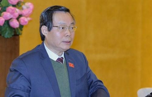 Phó chủ tịch Quốc hội Phùng Quốc Hiển. Ảnh: QH