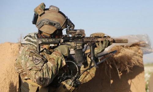 Lính đặc nhiệm Mỹ tại Afghanistan. Ảnh: Funker.