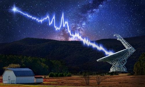 Green Bank là một trong những kính viễn vọng thu được chớp sóng vô tuyến. Ảnh: Danielle Futselaar.