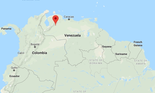 Vị trí thành phố Guanare, Venezuela. Đồ họa: Google Maps.