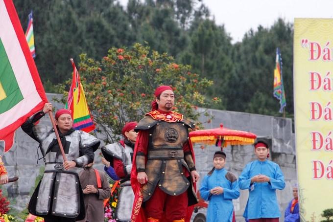 Huế tái hiện nghi lễ lên ngôi của vua Quang Trung
