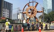 3 tháng tháo lắp robot khổng lồ để khoan hầm metro thứ 2 Sài Gòn