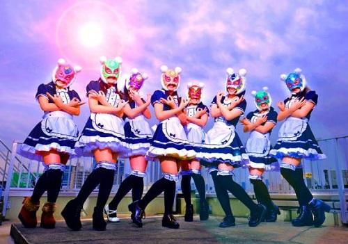 Nhóm nhạc 8 thành viên Những cô gái tiền ảo sắp ra mắt tại Nhật. Ảnh: Japan Today.
