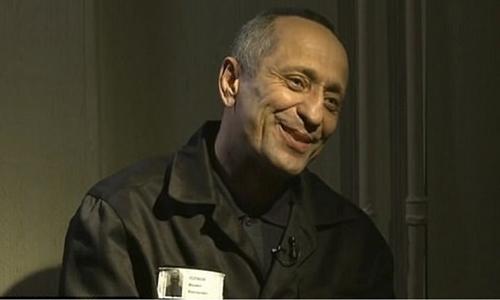 Mikhail Popkov trong một cuộc phỏng vấn với kênh truyền hình Russia-1. Ảnh: Russia-1.