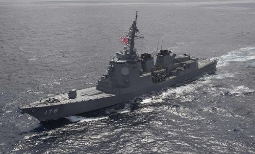 Tàu khu trục trang bị hệ thống Aegis tối tân của Nhật. Ảnh: Wikipedia.