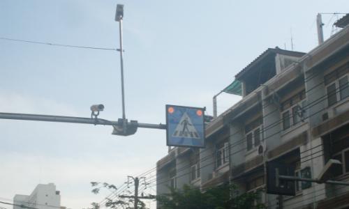 Đèn cảnh báotạiBangkok.