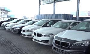 Lô BMW nằm phơi nắng mưa ở cảng Sài Gòn sẽ tái xuất về Đức