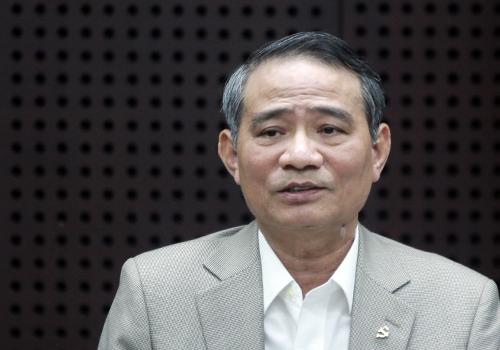 Bí thư Trương Quang Nghĩa phát biểu tại buổi làm việc. Ảnh: Nguyễn Đông.