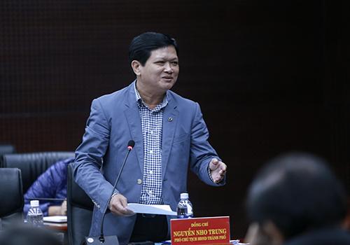 Ông Nguyễn Nho Trung giật mình khi phát hiện chủ trương đổi đất lấy hạ tầng gây thất thoát lớn ngân sách. Ảnh: Nguyễn Đông.