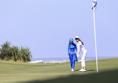 Du lịch golf đang phát triển mạnh ở Đà Nẵng và Việt Nam. Ảnh minh họa: Nguyễn Đông.