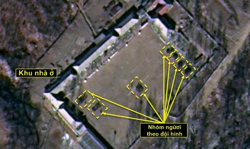Hình ảnh vệ tinh cho thấy