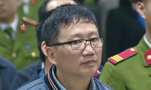 Ông Trịnh Xuân Thanh khóc khi nghe bào chữa của ông Thăng