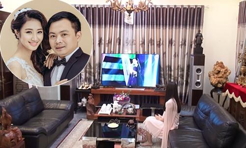Biệt thự hơn 100 m2 của Hoa hậu Thu Ngân và chồng đại gia