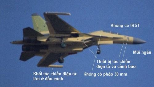 Phiên bản J-16D được Trung Quốc thử nghiệm hồi năm 2015. Ảnh: Sino Defense.