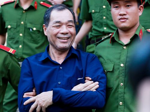 Ông Trầm Bê. Ảnh: Quỳnh Trần.