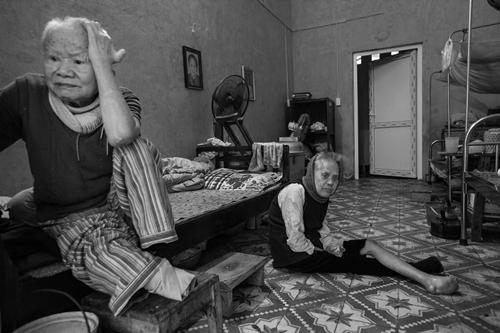 Người già tại trại phong Báo Đáp, Bắc Ninh