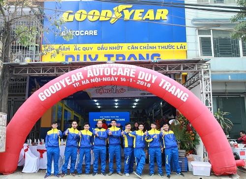 Autocare Duy Trang là thành viên mới của chuỗi Trung tâm dịch vụ và chăm sóc lốp xe chuyên nghiệp Goodyear.