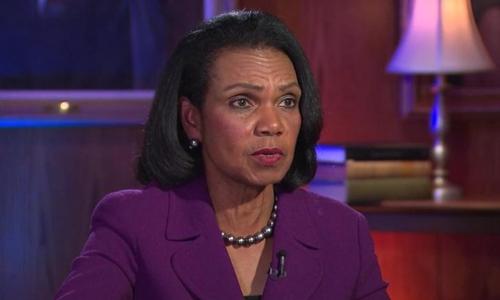 Cựu ngoại trưởng Mĩ Condoleezza Rice. Ảnh: CNN.