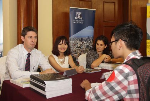 Ngày hội tư vấn, tiếp nhận hồ vào Đại họcMelbourne, Australia
