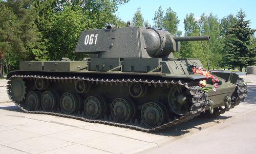Xe tăng KV-1 được lưu giữ sau chiến tranh. Ảnh: Wikipedia.