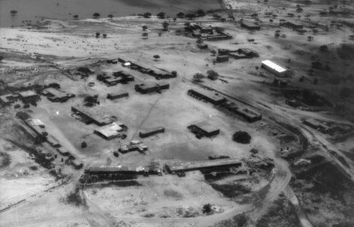 Khu vực đóng quân của Pháp tại Moussoro. Ảnh: War is Boring.