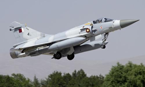 Một chiến đấu cơ của Qatar. Ảnh: Aviation Week.