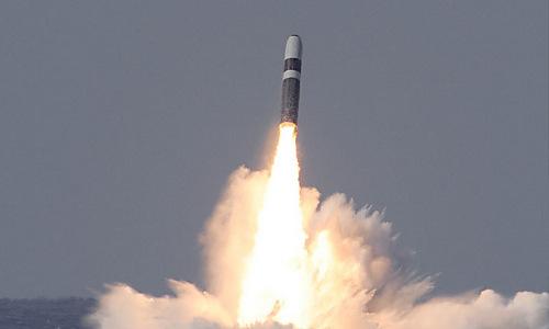 Tên lửa đạn đạo hạt nhân Trident của hải quân Mỹ. Ảnh: Lockheed Martin.