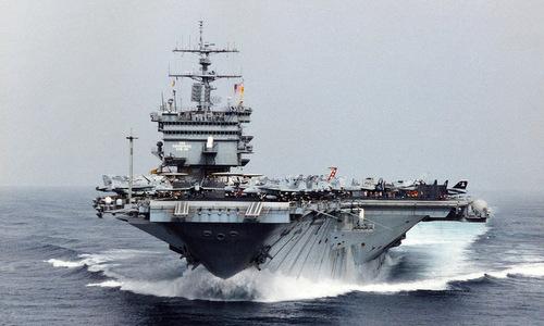 Tàu sân bay USS Enterprise. Ảnh: US Navy.