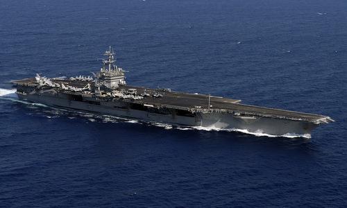 Sai lầm của hạm trưởng khiến tàu sân bay hạt nhân Mỹ suýt đắm năm 1985
