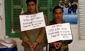 Người nước ngoài mang 30.000 viên ma túy tổng hợp bị bắt ở Quảng Bình