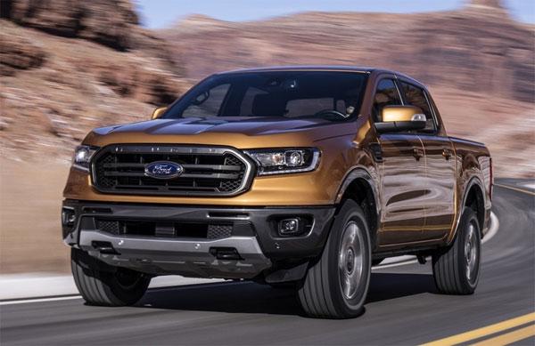 Ford Ranger thế hệ mới ra mắt