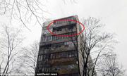 Người mẹ Nga thoát chết khi ôm con nhảy từ đám cháy ở tầng 8