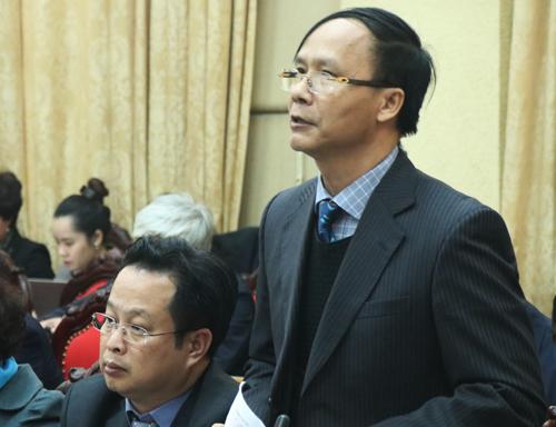 Ông Nguyễn Hoài Nam, Trưởng ban Pháp chế (HĐND TP Hà Nội). Ảnh: Võ Hải.