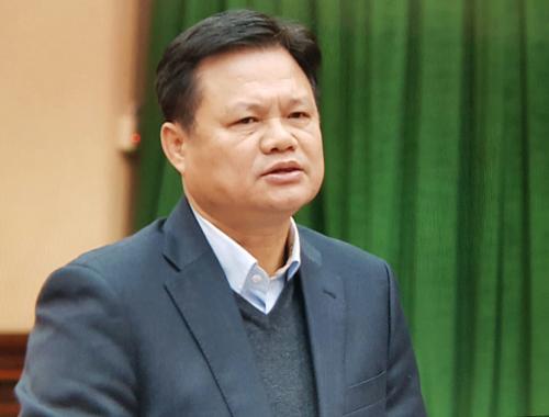 Trưởng Ban tổ chức Thành uỷ Hà Nội Vũ Đức Bảo. Ảnh: Võ Hải.
