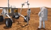 Thềm băng sâu 100 mét dưới bề mặt sao Hỏa