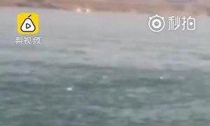 Người đàn ông Trung Quốc suýt chết đuối khi bơi dưới hồ đóng băng