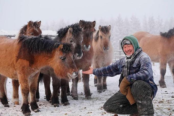 Ngôi làng lạnh -62 độ, khiến nhiệt kế bị vỡ